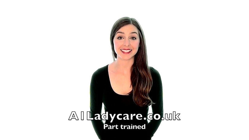 A1 Ladycare Part trained