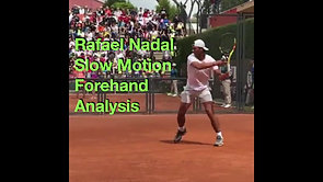 Nadal Forehand Analysis