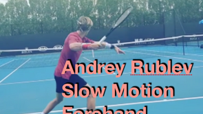 Rublev Forehand Analysis