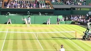 Nadal vs. Del Potro Wimbledon Court Level