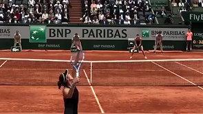 Murguruza vs. Sharapova - French Open 2018