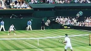 Federer Fake Dropshot