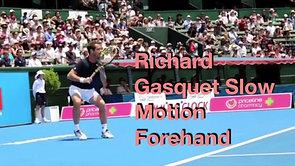 Gasquet Forehand Analysis