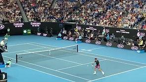 Federer vs. Djokovic 2020 Australian Open