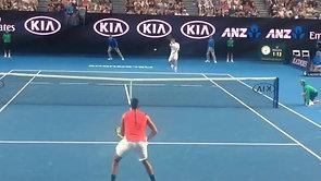Nick Kyrgios Court Level Australian Open