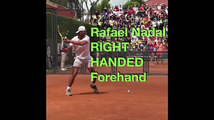 Nadal Right-Handed Forehand Slow Motion