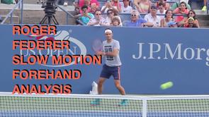 Federer Forehand Analysis