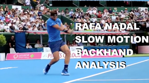 Nadal Backhand Analysis