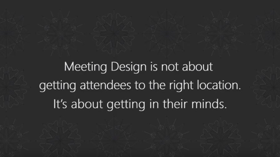 Why do people love Meeting Design?