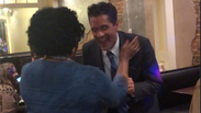 Eric Montgomery & Dr. Gabbin Dancing