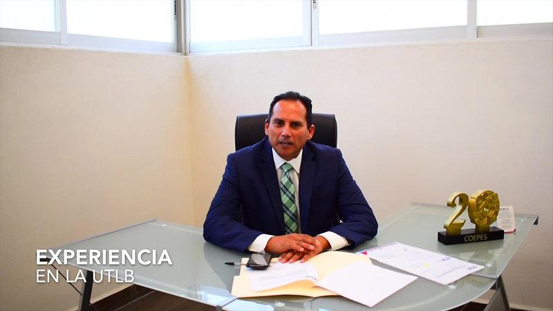Dr. Carlos Mendiola Amador Rector de la uTLB