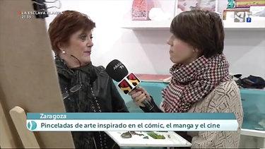Academia Mariposa 88 en Aragón TV