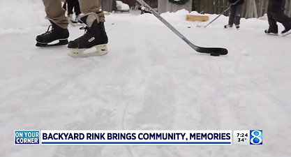 Building more than the backyard rink