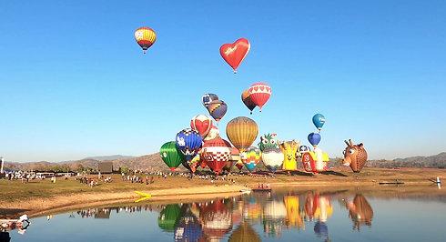 Balloons at Chiang Rai