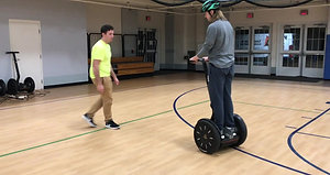 Segways on Campus