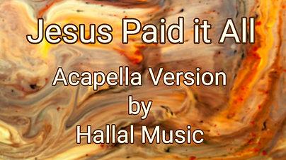 Jesus paid it all $12.99