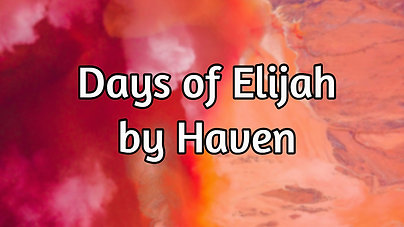 Days of Elijah $12.99