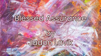 Blessed Assurance $12.99