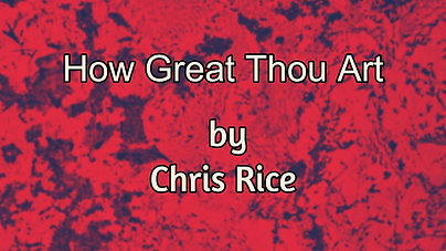 How Great Thou Art $12.99
