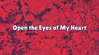 Open the eyes of my heart $10.99