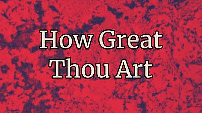 How Great Thou Art $10.99