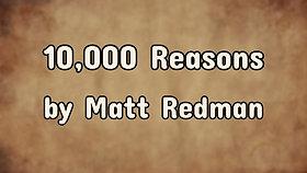 10,000 Reasons $12.99