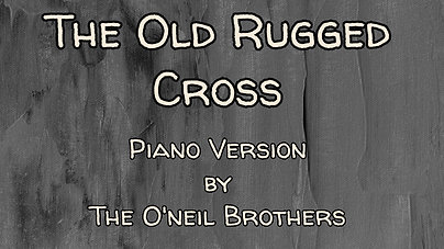The old rugged cross $12.99