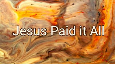 Jesus paid it all $10.99