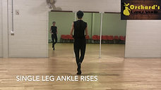L5. Ankle Rise Exercises - Strengthening your ankles
