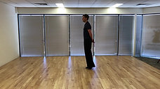 M46. Lounge routine - Waltz open foot position with drive
