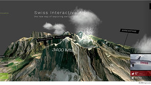 Interactive Swiss Alps