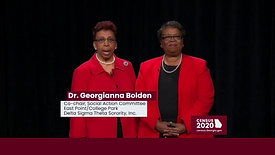 Delta Sigma Sisters - Every. One. Counts. Basic Census 2020 (30 sec)