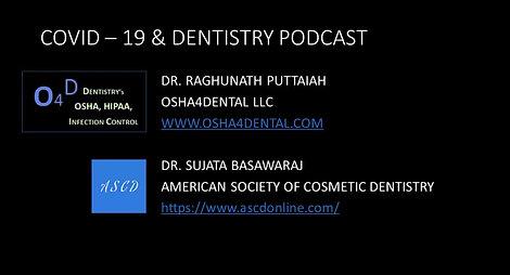 COVID-19 & Dentistry