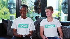 RDSA Share Your Rare - Kutlwano & Kyle Challenge