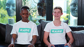 RDSA Share Your Rare - Kutlwano & Kyle Interview