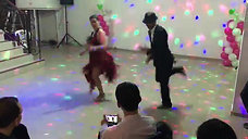 Marcela bailando Jorge OROZCO