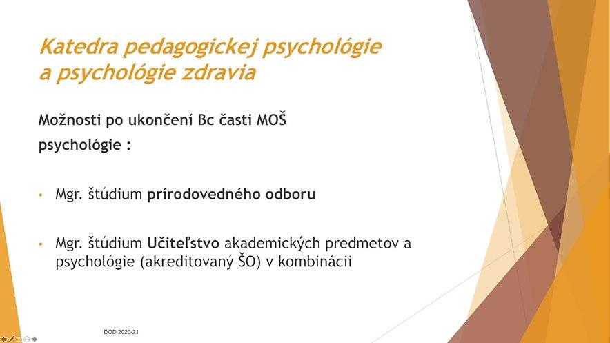 Katedra pedagogickej psychológie a psychológie zdravia