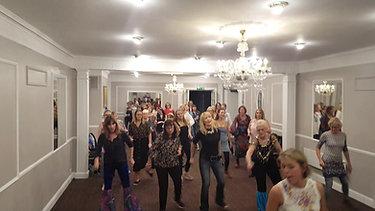 Dancing Queen charity group dance