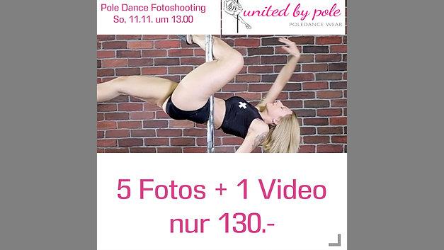 Poledance Shooting in Langenthal am 11.11.18
