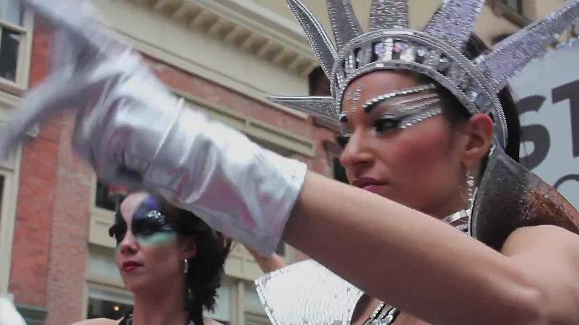 Dance Parade NYC 2013_ Lockeroo Waacking Float
