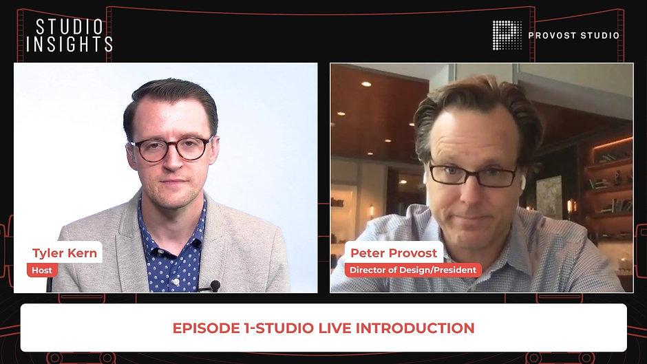 Studio Insights: Ep.1-Introduction