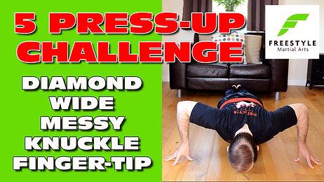 5 PRESS-UP CHALLENGE (12 mins)