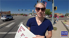 FORCED MANDATE RALLY, Grand Junction, Colorado
