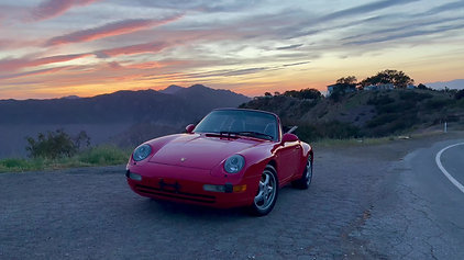 """""""Grandpa's Convertible"""" -  Charlie will learn driving this beautiful 1995 Porsche 911"""