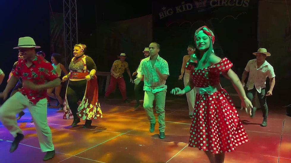 Circus De Cuba First half