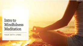 Intro to Mindfulness Meditation