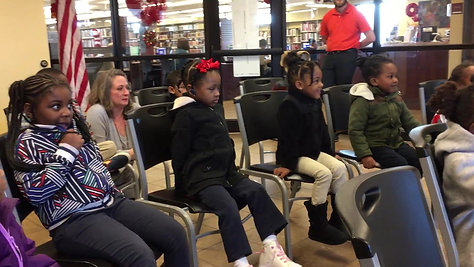 Martin Luther King Jr. Library Reading