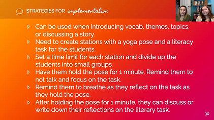 Grab N' Go #5: Literary Yoga