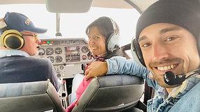 Fritzi und das Flugzeug