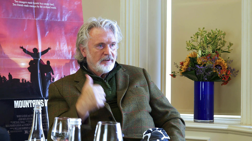 Patrick Bergin Interview UCFF 2020